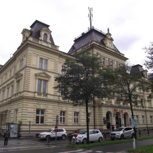 Брегенц (Австрия). Здание почты. (19.09.2017)