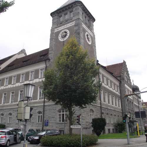 Фельдкирх (Австрия). Здание Регионального суда. (19.09.2017)