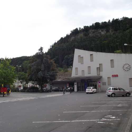 Фельдкирх (Австрия). Железнодорожный вокзал. (19.09.2017)