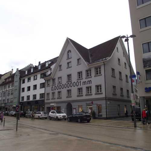 Брегенц (Австрия). Площадь Корнмарктплатц. (19.09.2017)
