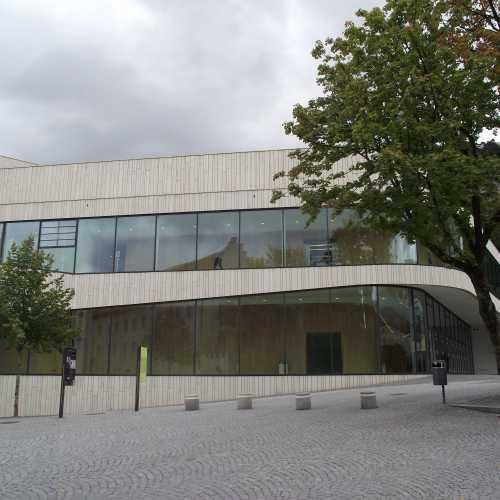 Фельдкирх (Австрия). Культурный центр Монтфортхаус. (19.09.2017)