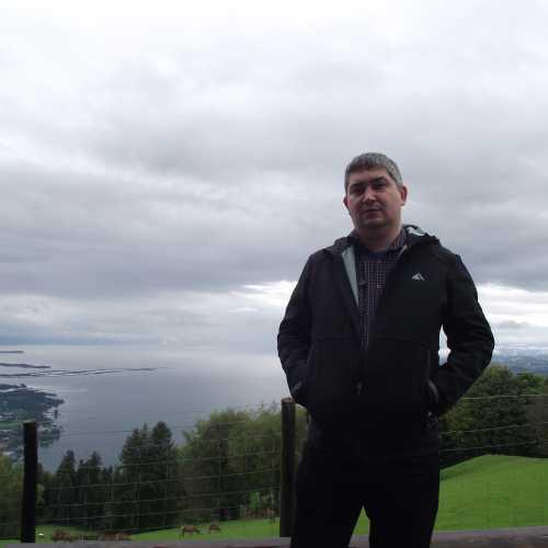 Брегенц (Австрия). Я на горе Пфендер. (19.09.2017)