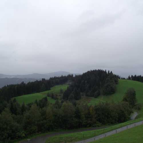 Брегенц (Австрия). На горе Пфендер. (19.09.2017)