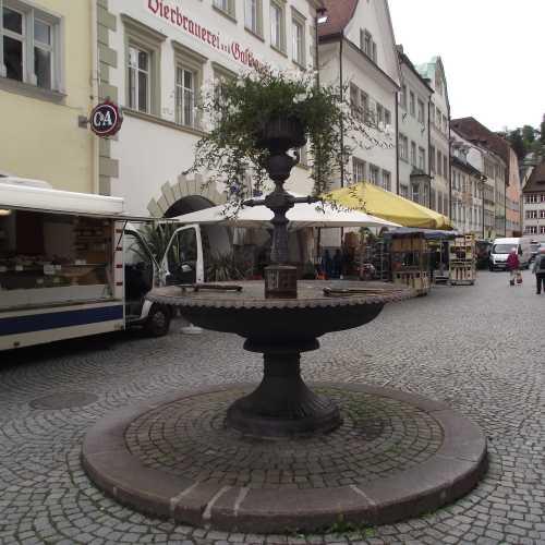 Фельдкирх (Австрия). Рыночная площадь. (19.09.2017)