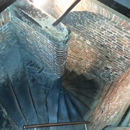 Брюгге. Лестница колокольни Беллфруа. (18.07.2013)