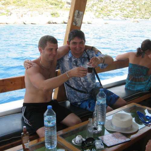 Экскурсия к острову Кекова. (август 2011)