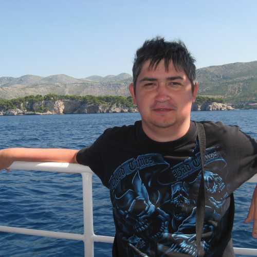 Я на экскурсии из Дубровника. (июль 2012)