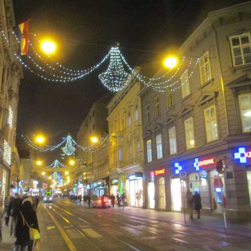 Загреб. Улица Илица. (03.01.2017)
