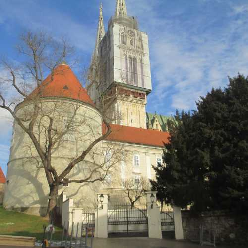 Загреб. Площадь Каптол. (03.01.2017)