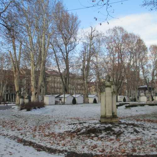Загреб. Парк Зриньевац. (03.01.2017)
