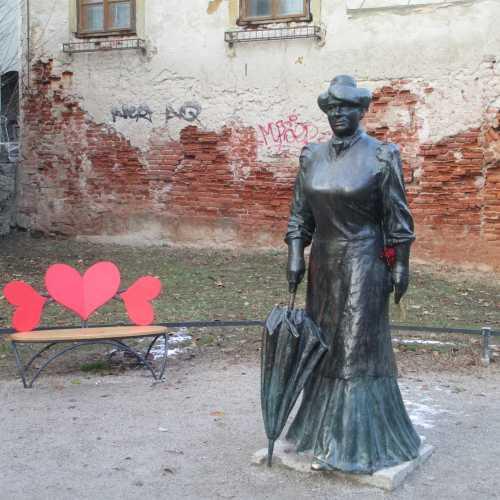 Загреб. Памятник Марии Юрич Загорки. (03.01.2017)