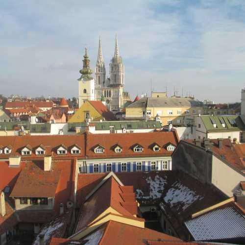 Вид на Загреб. (03.01.2017)