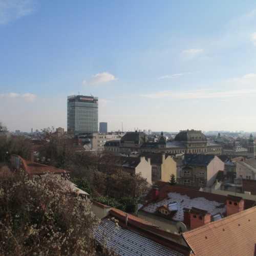 Вид на Загреб с проспекта Штроссмайера. (03.01.2017)