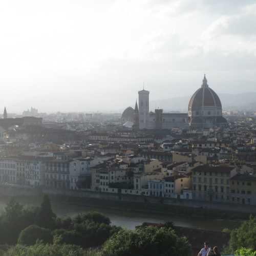Флоренция. Вид на город с площади Микеланджело. (08.07.2014)