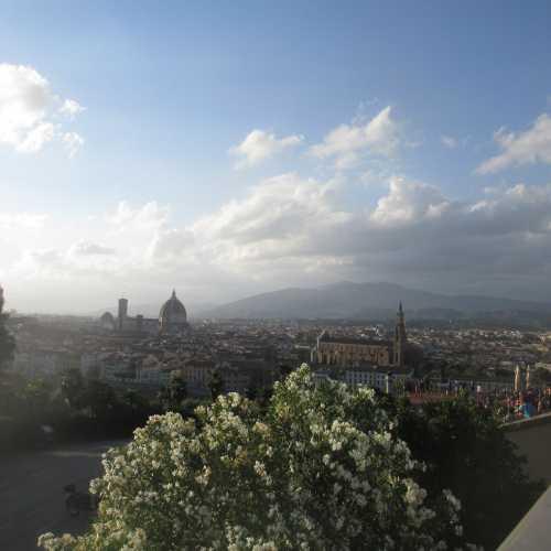 Флоренция. Вид с площади Микеланджело. (08.07.2014)
