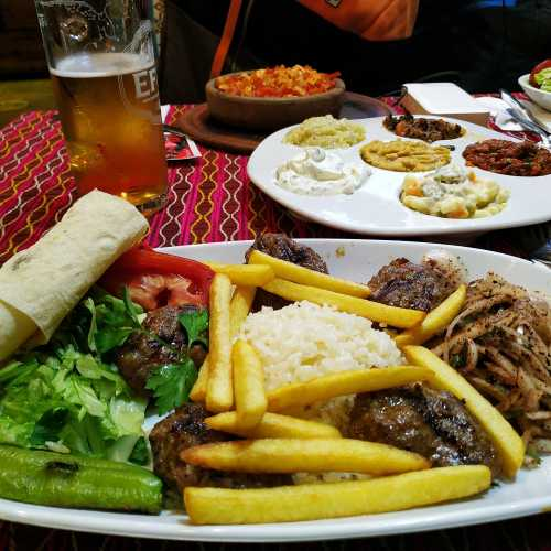 Стамбул. Ужин. (05.11.2020)