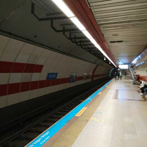 Стамбул. Станция метро Таксим. (05.11.2020)