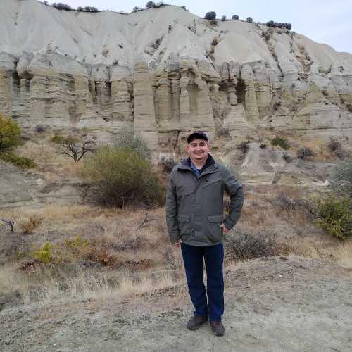 Я и пейзажи Каппадокии. Белая Долина. (06.11.2020)