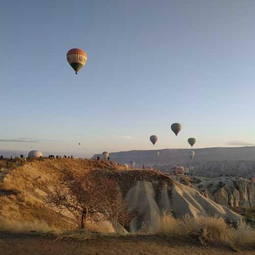 Гёреме. Воздушные шары в Каппадокии. (07.11.2020)