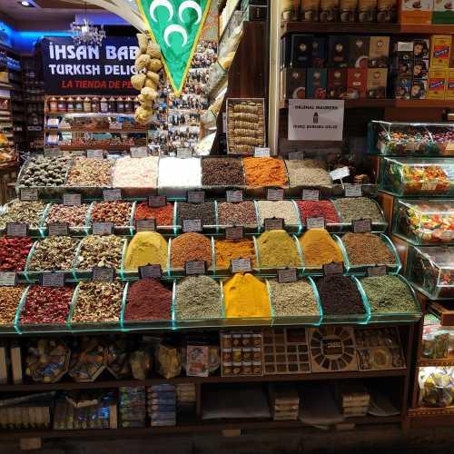 Стамбул. Египетский базар. (07.11.2020)