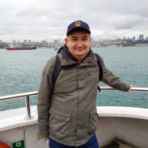 Стамбул. Я на пароме по Босфору. (07.11.2020)