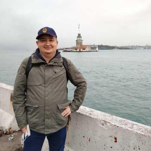 Стамбул. Я на набережной Ускюдар. (07.11.2020)