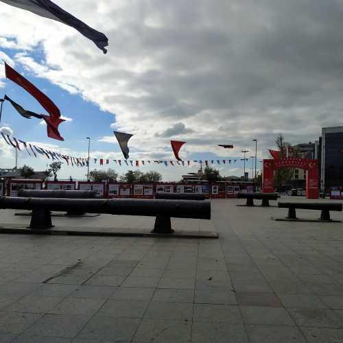 Стамбул. Площадь Барбарос. (08.11.2020)
