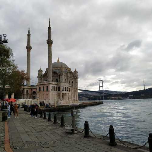 Стамбул. Мечеть Ортакёй. (08.11.2020)