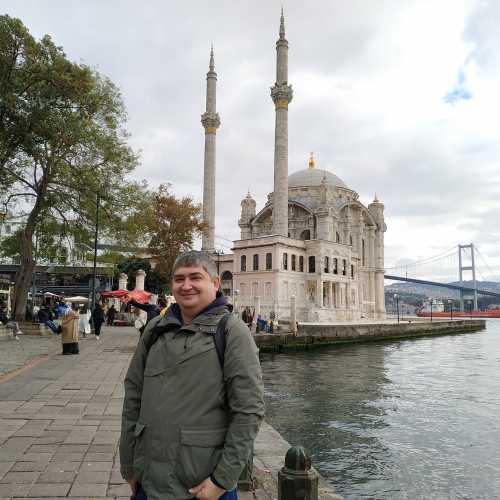 Стамбул. Я на площади Ортакёй. (08.11.2020)