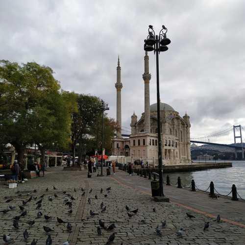 Стамбул. Площадь Ортакёй. (08.11.2020)