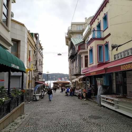 Стамбул. Квартал Ортакёй. (08.11.2020)