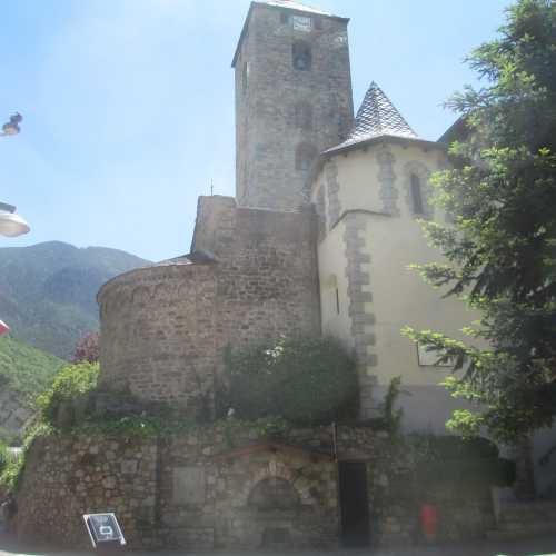 Андорра-ла-Велья. Церковь Сан-Эстеве. (21.06.2016)