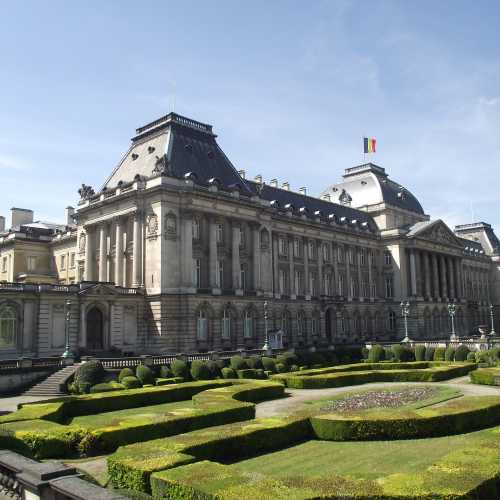 Брюссель. Королевский Дворец. (30.04.2017)