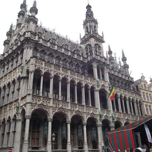 Брюссель. Площадь Гранд-Плас. Дом Короля. (30.04.2017)