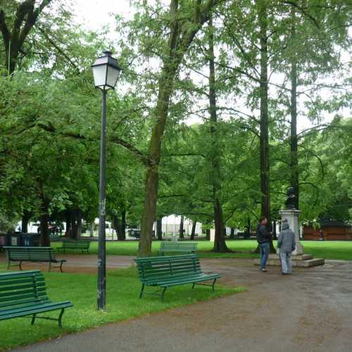 Женева. Парк бастионов. (16.06.2016)