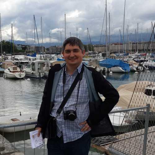Я на набережной в Женеве. (16.06.2016)