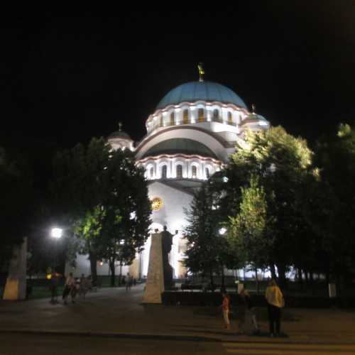 Белград. Собор Святого Савы. (13.09.2015)