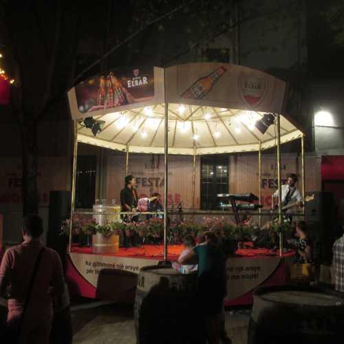Тирана. Улица Мурат Топтани. (05.09.2015)