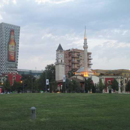 Тирана. Площадь Скандербега. (05.09.2015)