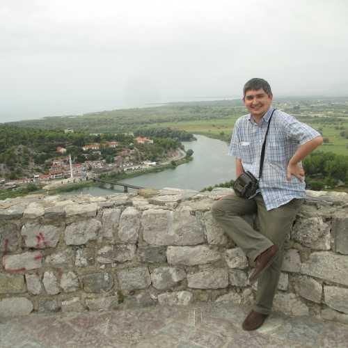 Шкодер. Я в крепости Розафа. (05.09.2015)