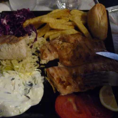 Ужин в Тиране. (05.09.2015)