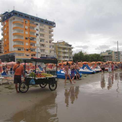 Пляж Дурреса. (06.09.2015)