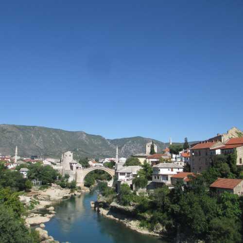 Мостар. Вид с Лучкова моста. (08.09.2015)