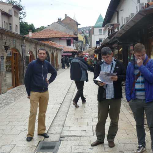 Сараево. Выбор маршрута. (07.09.2015)