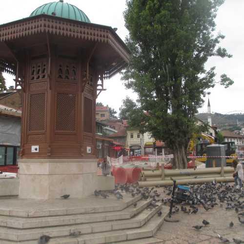 Сараево. Фонтан Себиль. (07.09.2015)