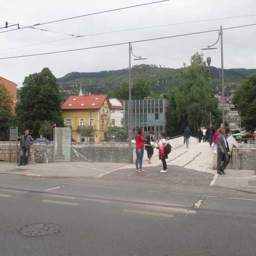 Сараево. Место убийства эрцгерцога Фердинанда. (07.09.2015)