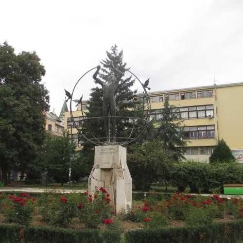 Сараево. Памятник мультикультурному человеку. (07.09.2015)