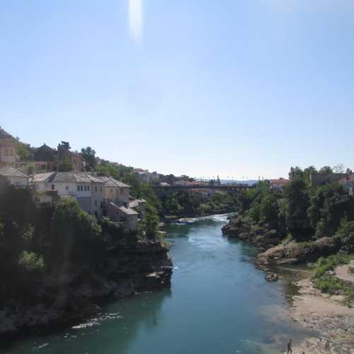 Мостар. Вид на Неретву от Старого моста. (08.09.2015)
