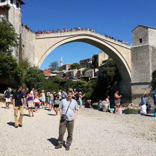 Мостар. Я у Старого моста. (08.09.2015)