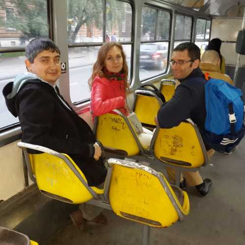 Поездка в Сараевском трамвае. (07.09.2015)